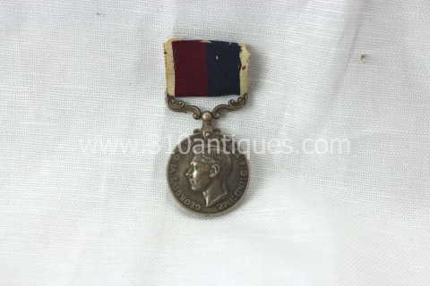Identified RAF Long Service and Good Conduct Medal Edward VI (2)