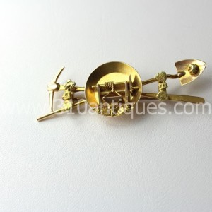 Mayer Brothers Seattle Gold Rush  Brooch (2)