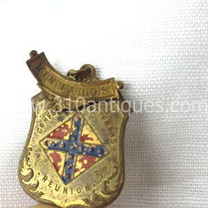 UCV United Confederate Veterans Badge Souvenir  (3)