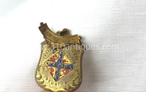 UCV United Confederate Veterans Badge Souvenir  (3)