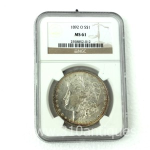 1892-O Morgan Dollar NGC MS61 (2)