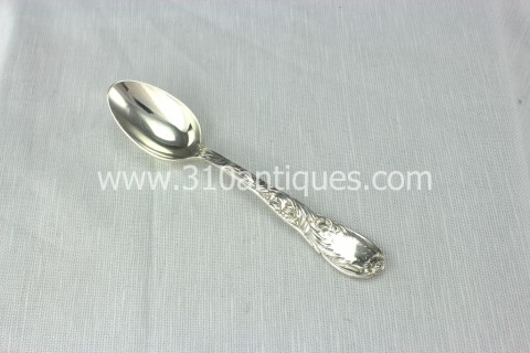 Sterling Silver Tiffany & Company Teaspoon Chrysanthemum Pattern (1)