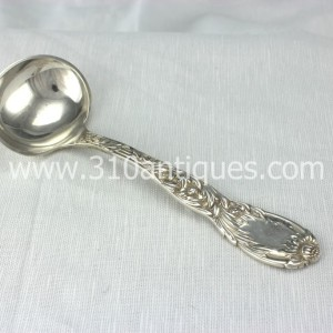 Tiffany Chrysanthemum Pattern Sterling Silver Gravy Ladle