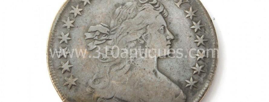 1798 American Bust Silver Dollar