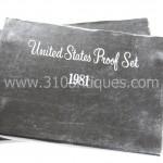1981 United States Proof Set  (2)