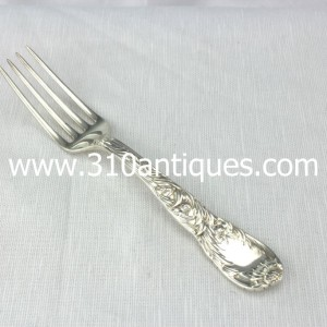Tiffany Chrysanthemum Pattern sterling silver Dinner Fork (2)