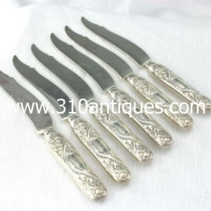 Tiffany & Co. Chrysanthemum Pattern Sterling silver Fish Knives